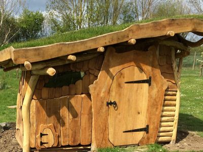 HOBBIT HOUSE BUILD