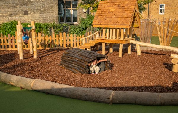 St Paul's  Reception and Year One Play Area