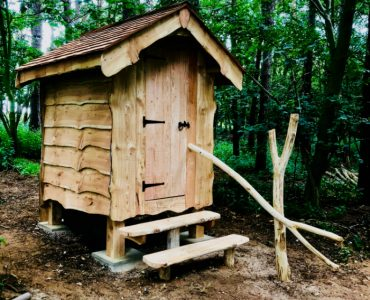 Woodland Composting Toilet