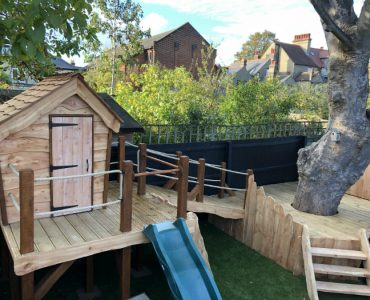 Oak & Larch Play Structure