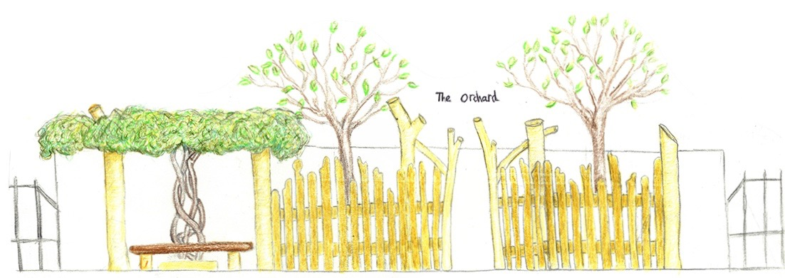 The Orchard Sketch 2