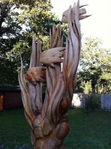 Fish reeds carving rs