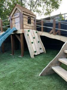 Oak & Larch Play Structure 4 RS