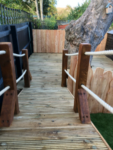 Oak & Larch Play Structure 5 RS