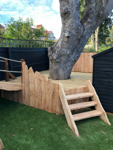 Oak & Larch Play Structure 6 RS