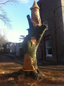 Turret tree carving rs